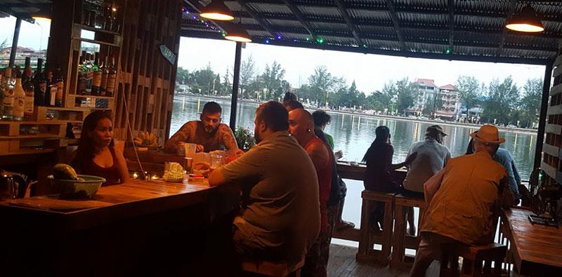 Sweet Pallet bar Kampot