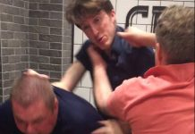 Chaotic Shenzhen fight between expats